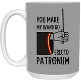 You Make My Wand Go Erecto Patronum Harry Potter Mug - Christmas Gift For Couples