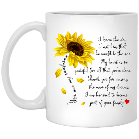 Couple Mugs For Fiance male - You Are My Sunshine - Valentine's Day Gift