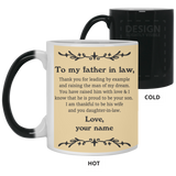Thank You Father In Law Mug - Valentine's Day Gift