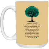 Tree Mug for Parents-in-law - Valentine's Day Gift