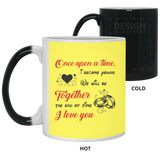 Couple Mugs For Fiance And Fiancee - Magic Proposal
