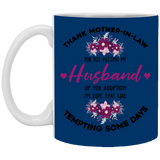 Thank Mother In Law Mug - Christmas Gift For Couples