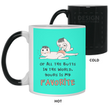 Of All The Butts In the World, Yours Is My Favorite - Funny Gag Gift Ideas For Bf and Gf - Christmas Gift For Couples