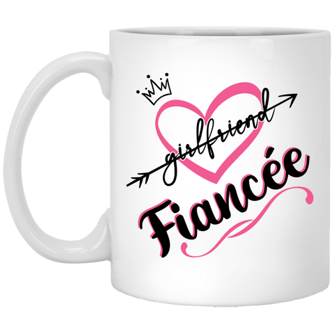 World's Best Fiancee Mug - Creative Gift Idea For Girlfriend - Valentine's Day Gift