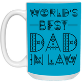 Typography Design Mug For Father-in-law - Christmas Proposal Gift