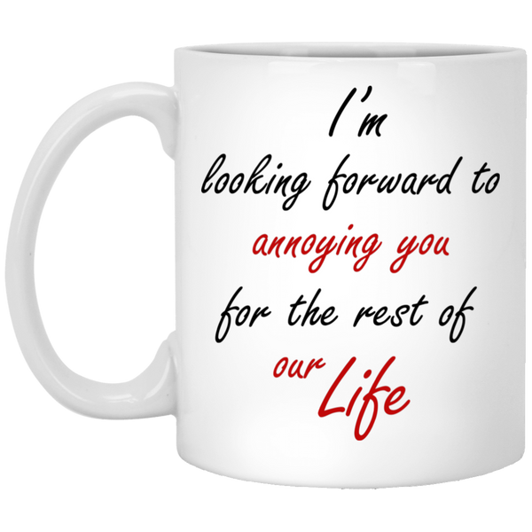 World's Best Fiance And Fiancee Mug - Funny Couple Gift Idea - Magic Proposal