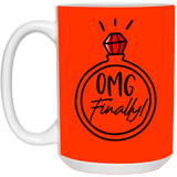 OMG Finally Mug - Magic Proposal