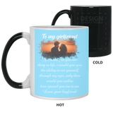 To My Girlfriend Mug - Christmas Gift For Couples
