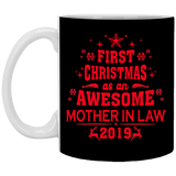 First Christmas As an Awesome Mother-in-law - Christmas Gift For Couples