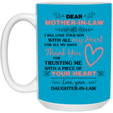 Dear Mother-In-Law - Christmas Gift For Couples