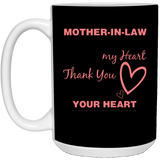 Dear Mother-In-Law - Valentine's Day Gift