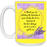 Lavender Mug For Parents-in-law - Magic Proposal