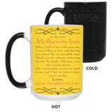 To The Best Mother-in-law Mug - Magic Proposal