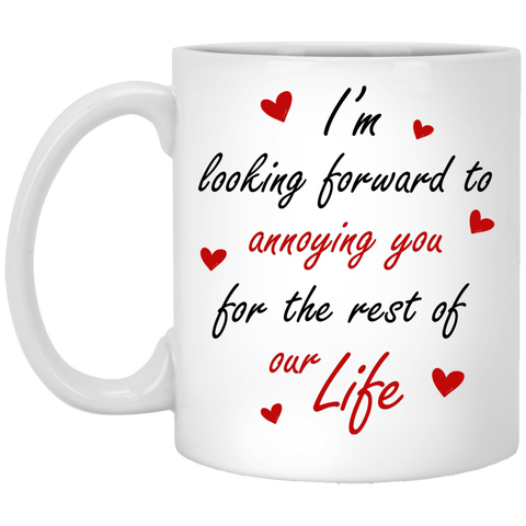 World's Best Fiance And Fiancee Mug - Funny Couple Gift Idea - Christmas Proposal Gift