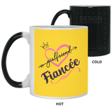 World's Best Fiancee Mug - Creative Gift Idea For Girlfriend - Magic Proposal