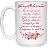 Coffee Mug For Mother-in-law From Bride - Magic Proposal