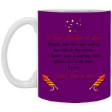 Dear Mother-in-law Mug - Valentine's Day Gift