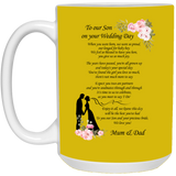 To Our Son On Wedding Day - Christmas Proposal Gift