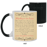 To The Best Mother-in-law Mug - Christmas Proposal Gift
