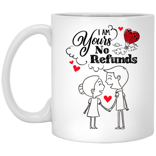 Lovely Couples Mug For Fiance and Fiancee - Christmas Gift For Couples
