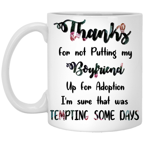 Good Gift For Mother Of Boyfriend - Thank You Mug - Magic Proposal