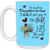 To My Daughter-In-Law - Christmas Gift For Couples