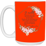 Thank You Mother In Law Flower Mug - Valentine's Day Gift