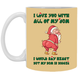 Relationship Bum Mug For Couples - Christmas Gift For Couples