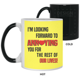 Fiance And Fiancee Romantic Couple Gift - Funny Quote Coffee Mug - Magic Proposal