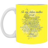 Mother In Law Touching Gift Ideas - To My Future Mother In Law Mug - Christmas Gift For Couples