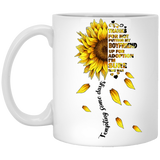 Boyfriend's Mother Creative Gift Ideas - Sunflower Mug - Christmas Gift For Couples