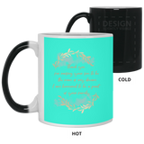 Sentiment Flower Mug For Parents-in-law - Christmas Gift For Couples