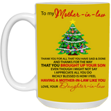 To My Mother In law - Christmas Tree Mug - Magic Proposal