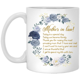 Best Mug For Mother In Law - Personalized Gift - Christmas Gift For Couples