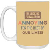 Funny Couples Mug For Fiance And Fiancee - Valentine's Day Gift