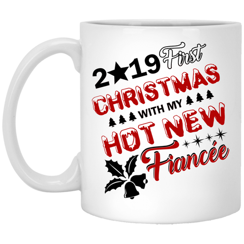Best Christmas Gifts For Fiancee Female 2019 - Hot New Fiancée Mug - Christmas Proposal Gift
