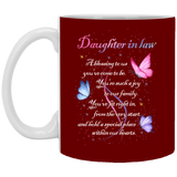 Mugs For Daughter In Law - Christmas Gift For Couples