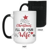 Best Christmas Gifts For Fiance Male 2019 - From Future Wife Mug - Magic Proposal