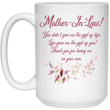 Sweet Mug for Mother-in-law - Christmas Gift For Couples