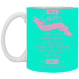 Mother In Law Touching Gift Ideas - To My Future Mother In Law Mug - Magic Proposal