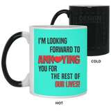 Fiance And Fiancee Romantic Couple Gift - Funny Quote Coffee Mug - Christmas Gift For Couples