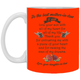 Mother In Law Mug - Christmas Gift For Couples