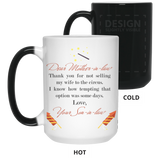 Dear Mother-in-law Mug - Christmas Gift For Couples