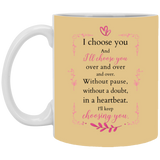 Couple Mugs For Fiance And Fiancee - Christmas Gift For Couples