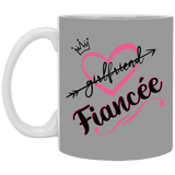 World's Best Fiancee Mug - Creative Gift Idea For Girlfriend - Christmas Gift For Couples