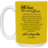 Couples Mug For Fiance And Fiancee - Trent Shelton - Valentine's Day Gift