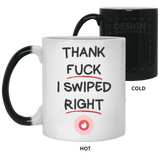 I Swiped Right Mug - Christmas Gift For Couples