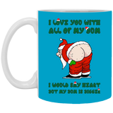 Relationship Mug Santa Claus Butt - Magic Proposal