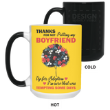 Boyfriend's Mom Creative Gift Ideas - Flower Mug - Magic Proposal