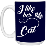 Matching Couples Mugs - I Like Her Cat - Magic Proposal